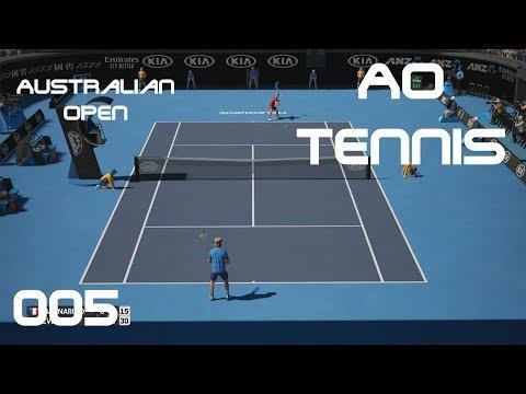AO Tennis [PS4] - Australian Open #005 - Enges Match - Let's Play