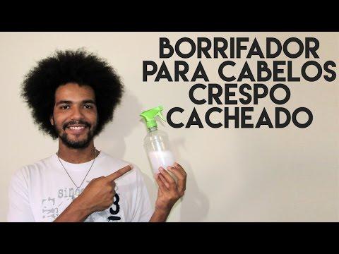 BORRIFADOR PARA CABELOS CRESPOS E CACHEADOS
