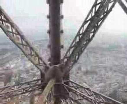 Beklimming Eiffeltoren