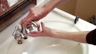 Watch How to Install a Moen Centerset Faucet