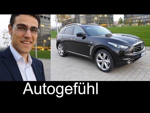 2015 Infiniti QX70 (Infiniti FX) SUV test drive REVIEW - Autogefühl