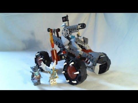 Vidéo LEGO Chima 70004 : Le tout-terrain loup de Wakz
