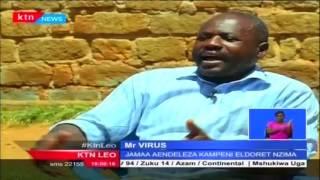 Mr. Virus ana ugonjwa wa ukimwi na yeye uhamasisha watu kuhusu maradhi hayo