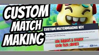 Custom Matchmaking Fortnite at Next New Now Vblog