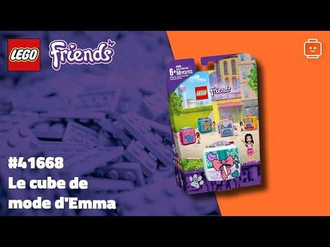 Vidéo LEGO Friends 41668 : Le cube de mode d'Emma