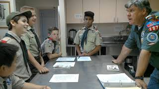 Cooking Merit Badge Class