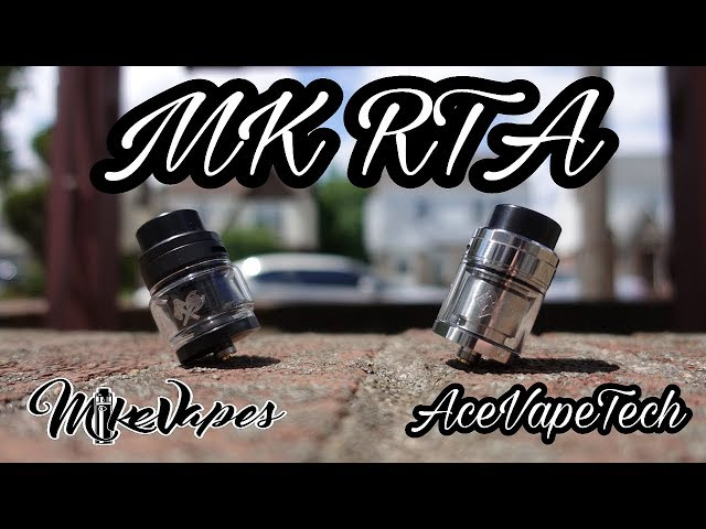 MK RTA By Ace Vape Tech - Build & Wick - Mike Vapes