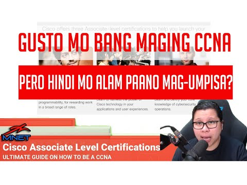 Ultimate Guide on How to be a CCNA (2020) | Free CCNA Tutorials for Pinoy  Beginners