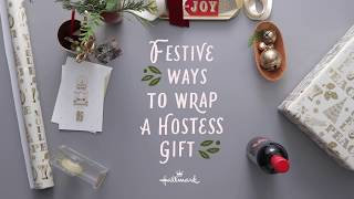 How To Wrap A Hostess Gift