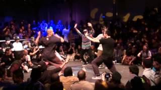 Juste Debout 2013 Amsterdam | HipHop | Semi-final | Paradox & Dimension vs Baloo & Idriss