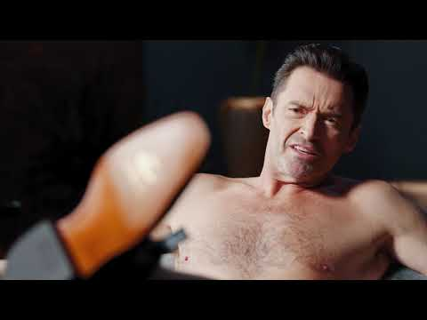 Hugh Jackman Wears Nothing but Boots