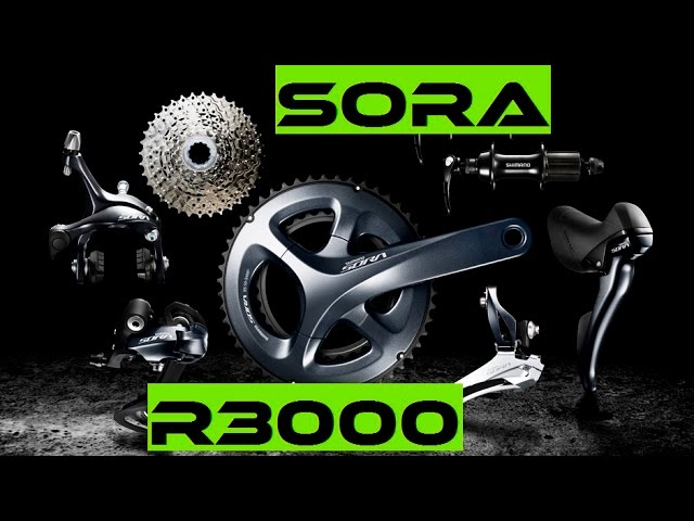 Видео Тормоз задний Shimano BR-R3000-R SORA