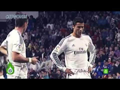 Así fue la primera falta directa de la sociedad Cristiano Ronaldo & Gareth Bale