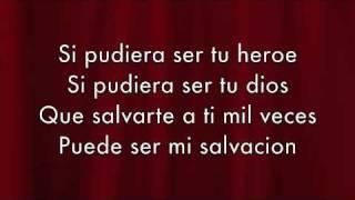 Descargar MP3 de Enrique Iglesias - Heroe Lyrics (Español)