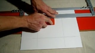 How To Cut Mat For Pictures With EZ Mat Cutter