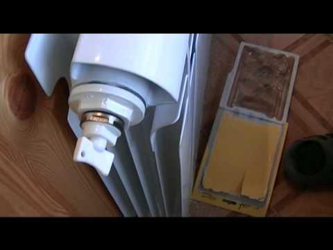 Вынос радиатора на балкон