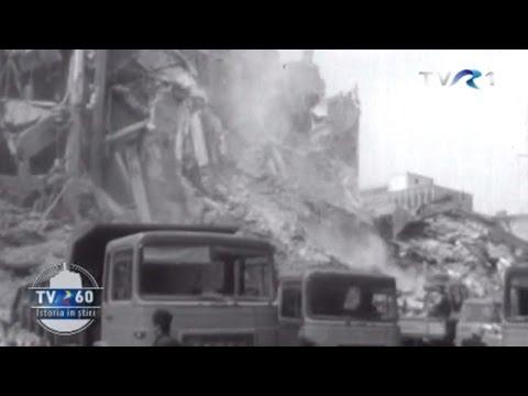 Imagini de la cutremurul din 1977, nedifuzate