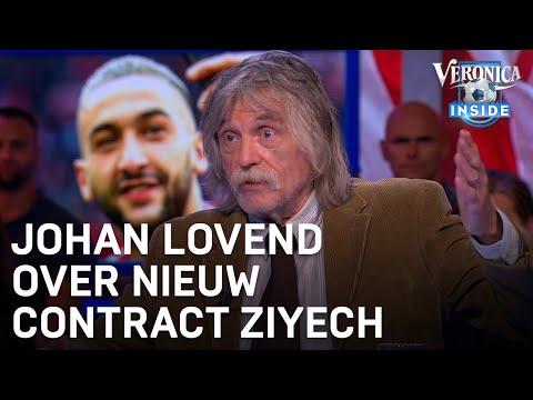 Johan lovend over contractverlenging Ziyech | VERONICA INSIDE