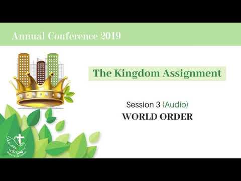 Թագաւորութեան Յանձնարարութիւնը 3 - Աշխարհի Կարգը (սիստեմը)