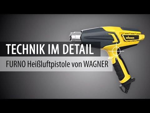 FURNO Heißluftpistolen von WAGNER - Technik im Detail