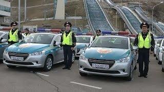 Полиция Алматы пересаживается на новые автомобили (08.12.15)