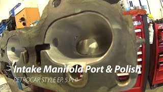 homepage tile video photo for Mazda Protege Intake Port & Polish
