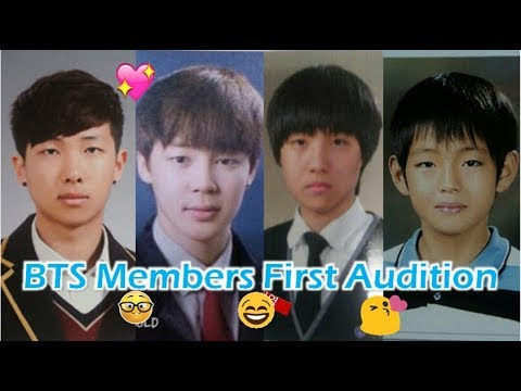 BTS Members First Audition (Pre-Debut)