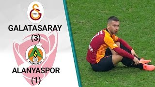 Galatasaray 3 - 1 Alanyaspor MAÇ ÖZETİ (Ziraat Türkiye Kupası Çeyrek Final Rövanş Maçı)