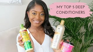 TOP 5 MOISTURISING DEEP CONDITIONERS FOR HEALTHY HAIR | Healthy Hair Junkie