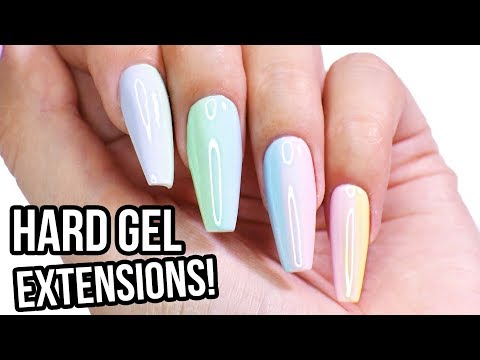 Sculpt Hard Gel Nail Extensions: Step by Step How-To Tutorial