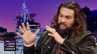 Jason Momoa Brought His Haka to the