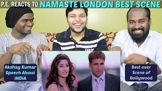 AKSHAY KUMAR'S NAMASTE LONDON BEST SCENE   P.E.