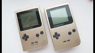 Let's Mod!   GameBoy Pocket To GameBoy Light!