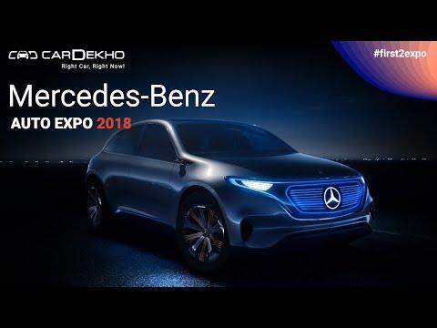 Mercedes-Benz at Auto Expo 2018 | #First2Expo | EQ, E-Class All Terrain, Maybach