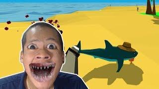ฉลามหลุดเข้าไปในเมือง   Shark Simulator
