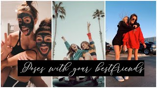 POSES WITH BESTFRIEND/ BESTIE | PHOTO IDEAS | AESTHETIC | INSTAGRAM