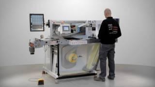 Prati Saturn, rebobinadora, cortadora e inspeccionadora de alta velocidad
