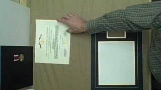 Medal Display Frame How To