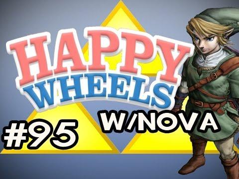 Happy Wheels w/Nova Ep.95 - Legend of Zelda: Ocarina Of Time HD Edition Pt.1