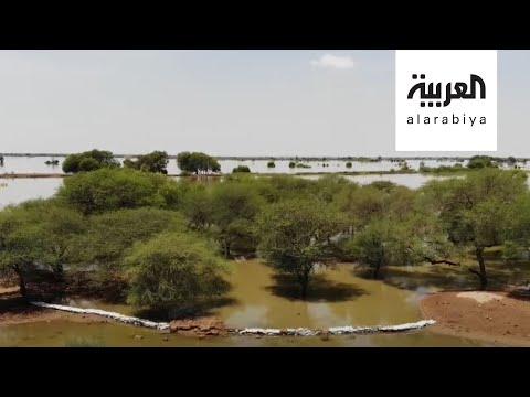 العرب اليوم - شاهد: السلطات السودانية تنجح في إنقاذ المدينة الملكية للحضارة المروية