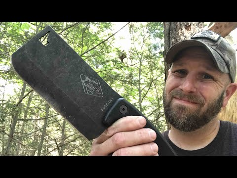 ESEE Cleaver: Cool, Unique But Not For Me In The Woods – Save It For The Kitchen