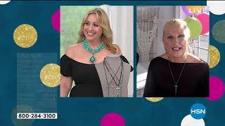 Heidi Daus Delicate Divinity Cross Drop Necklace