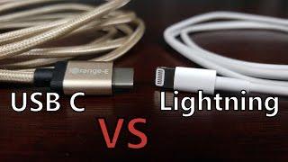 CableFight:USBType-CvsAppleLightningConnector