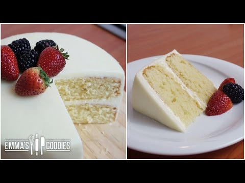 Video Moist Vanilla Cake Recipe