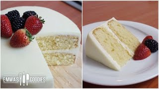 cake recipe with plain flour and oil