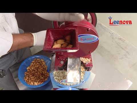 Leenova Hand Operated Dry Fruit Cutting Machine