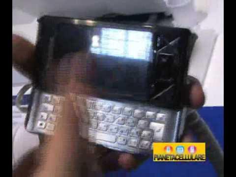 Video Sony Ericsson XPERIA X1