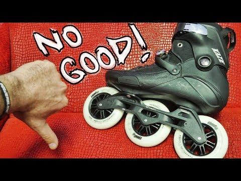Triskates , what's worst about 3 wheel inline skates ?