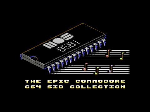 The Epic Commodore C64 SID Collection