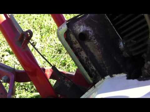 First start two-stroke iseki ac engine ( kt290 ) - смотреть
